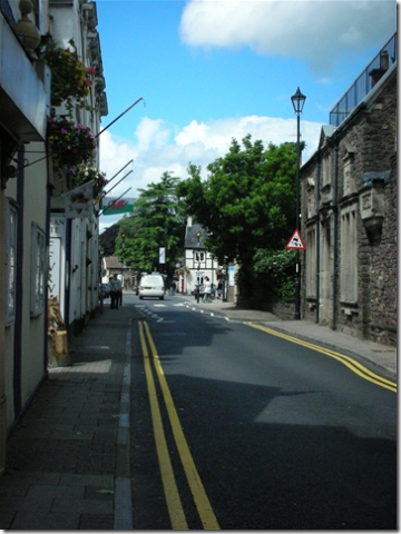 Caerleon high street