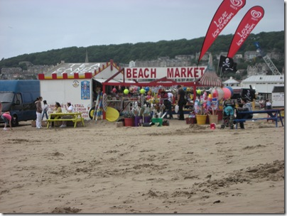 beach shop and cafe at Weston
