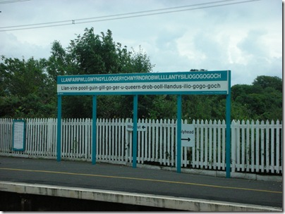 llanfair pg station sign