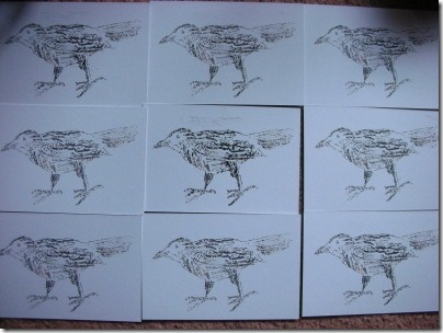 little crow gocco prints