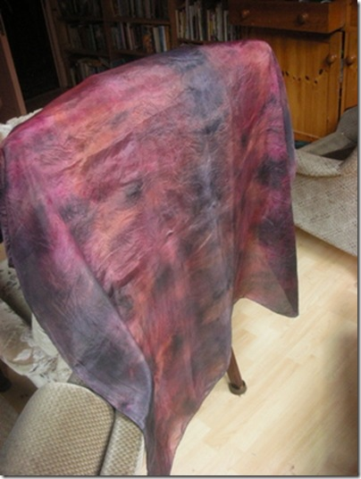 reddy compost dyed fabric