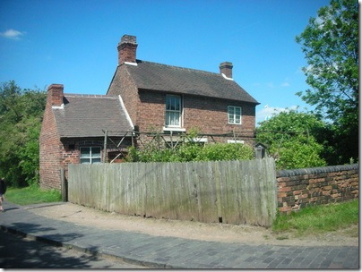 Tilted cottage, Black Country Museum