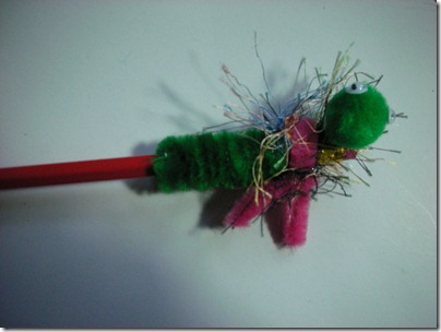 pipe cleaner bug
