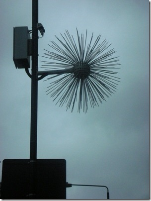 starburst lamposts
