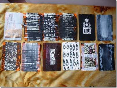 12 altered train tickets