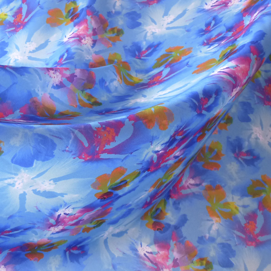 The fabric printed by Spoonflower that I used for my top - I called it 'Fairy Garden'.