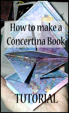 How to make a concertina book