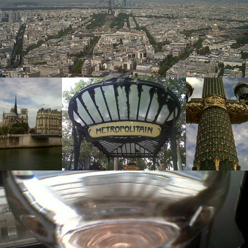 Paris - collage of photos