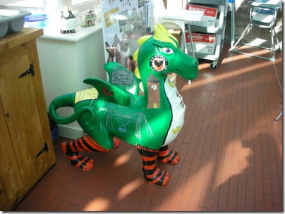 Clytha School's mini dragon