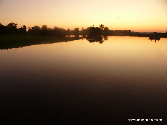 sunset on Yellow Water Billabong